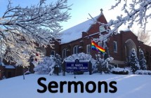 Podcasted sermons