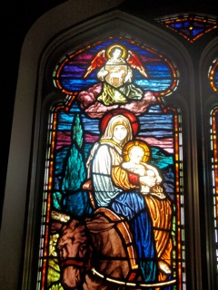 Stained-glass window, Saint Mary's Episcopal Church